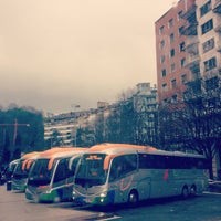 Photo taken at Estación de Autobuses de Donostia/San Sebastián by Ainara on 2/26/2013