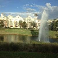 Photo taken at Disney's Saratoga Springs Resort & Spa by Rachel A. on 1/13/2013