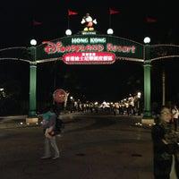 Photo taken at Hong Kong Disneyland by 🅿UII_SIRINRAT S. on 5/2/2013