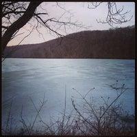 Photo taken at Loch Raven Dam by Danielle B. on 3/11/2014