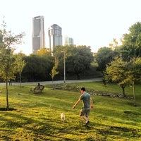 Photo taken at Parque Rufino Tamayo (Zona de Perros) by Jesús Art S. on 4/13/2014