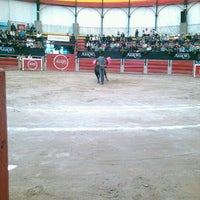 Photo taken at Plaza de Toros Arroyo by Paola A. on 11/24/2012