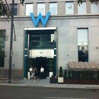 Photo taken at W Montréal by Amirsina D. on 8/24/2012