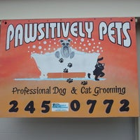 Photo taken at Pawsitively Pets Grooming by Jim S. on 7/9/2012
