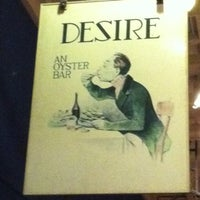 Photo taken at Desire Oyster Bar by Brian S. on 6/17/2012