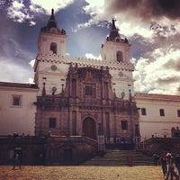 Photo taken at Iglesia de San francisco by Patrick on 7/24/2012