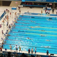 Photo taken at London 2012 Aquatics Centre by USA TODAY on 7/30/2012