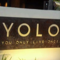 Photo taken at YOLO by Laura D. on 5/5/2012