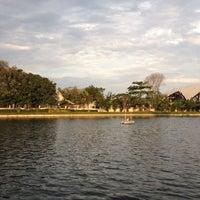 Photo taken at สวนนวมินทร์ภิรมย์ (บึงลำพังพวย) Nawaminphirom Park (Bueng Lam Phang Phuai) by Uracha P. on 3/7/2012