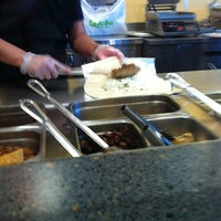 Photo taken at Qdoba Mexican Grill by Carl T. on 3/12/2012