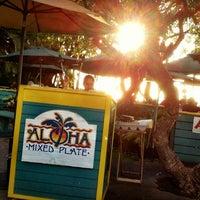 Photo taken at Aloha Mixed Plate by Tisha on 5/21/2012