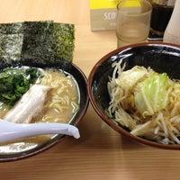 Photo taken at ラーメン 恵比寿家 by Yasu M. on 8/21/2012