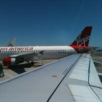 Photo taken at Virgin America by Lakegan H. on 6/3/2012
