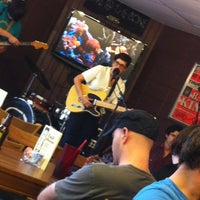 Photo taken at T-Bones Records & Cafe by Allison L. on 5/12/2012