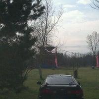 Photo taken at Tsogyelgar Dharma Center by Owl _. on 3/18/2012