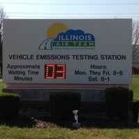 Photo taken at Illinois Air Team - Emissions Testing Station by V G. on 3/21/2012