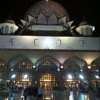 Photo taken at Masjid Putra by Asyraf Z. on 7/20/2012
