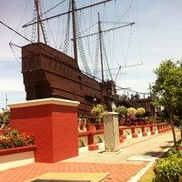 Photo taken at Kompleks Muzium Maritim (Samudera / Flor de La Mar) by Navin B. on 5/13/2012