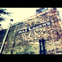 Photo taken at Max Lager's Wood-Fired Grill & Brewery by eat. drink. repeat. on 7/19/2012