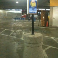 Photo taken at Megabus Bus Stop by Sharyn F. on 4/4/2012