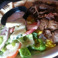 Photo taken at Athens Gyros by TroopFuel S. on 8/10/2012