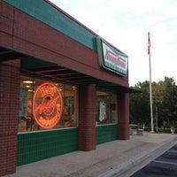 Photo taken at Krispy Kreme Doughnuts by Jeff Q. on 7/8/2012