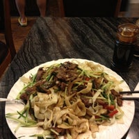 Photo taken at Noodle Kingdom by Mindy G. on 4/14/2012