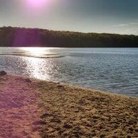 Photo taken at Lake Ahquabi State Park by Otis K. on 4/8/2012
