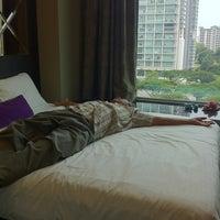 Photo taken at V Hotel Lavender by Jub J. on 8/11/2012