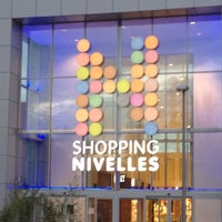 Photo taken at Shopping Nivelles by Achille R. on 4/2/2012
