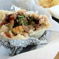 Photo taken at Bell Street Burritos by Praful G. on 2/20/2012