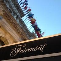 Photo taken at The Fairmont San Francisco by Ron A. on 5/4/2012