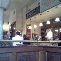 Photo taken at Leuven Belgian Beer Cafe by Derrick M. on 2/24/2012