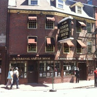 Photo taken at Union Oyster House by Paige on 4/29/2012