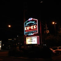 Photo taken at Landmark Diner by Matt S. on 5/31/2012