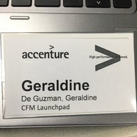 Photo taken at Accenture - Global One by Geraldine d. on 10/18/2016