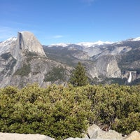 Photo taken at Glacier Point by Bill R. on 4/16/2014