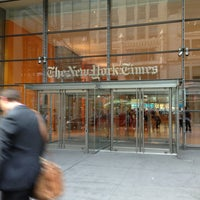 Photo taken at New York Times Building by Tomoko H. on 8/20/2013