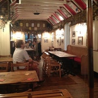 Photo taken at The Bricklayer's Arms by S. J. on 7/27/2013