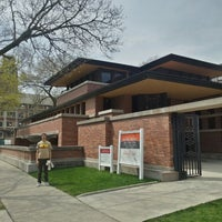 Photo taken at Frank Lloyd Wright Robie House by warren g. on 4/29/2013