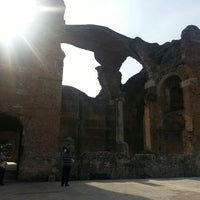 Photo taken at Villa Adriana by Angela B. on 3/23/2013