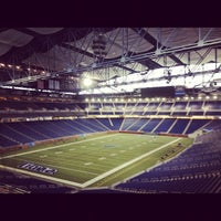 Photo taken at Ford Field by Jonny B. on 10/30/2012