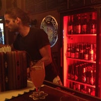 Photo taken at The Belgian Room by Carlos C. on 12/3/2012