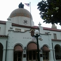 Photo taken at Quapaw Baths & Spa by Terri K. on 6/26/2014