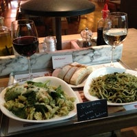 Photo taken at Vapiano by Olivia Y. on 5/4/2013