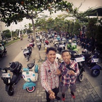 Photo taken at Luwansa Hotel Palangkaraya by Om K. on 5/31/2015