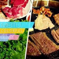 Photo taken at Blue Garden Korean BBQ Restaurant by Serlin L. on 9/7/2013