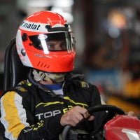 Photo taken at Interlagos karting by Mauricio Macri on 2/10/2014