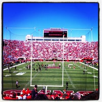 Photo taken at Memorial Stadium by Kim B. on 9/22/2012