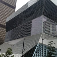 Photo taken at Seattle Public Library by Stacey L. on 9/13/2013